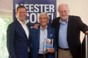 Frank Arnesen, Piet de Visser en Bert Nederlof